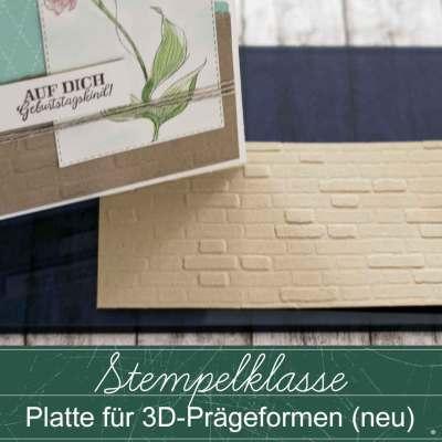Stempelklasse #40 – Platte für 3D-Prägeformen