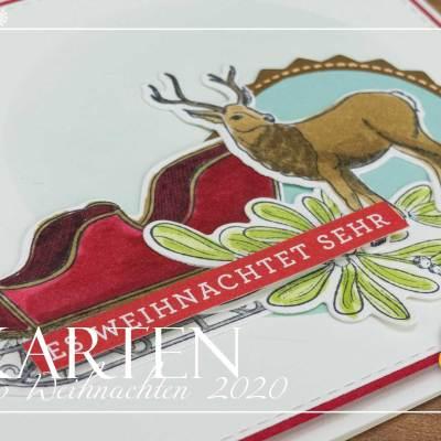 12 Karten bis Weihnachten #4 – Weihnachtspost