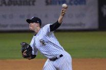 Jeff Degano pitched 1 2/3 innings in relief (Robert M Pimpsner)
