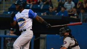 Jhalan Jackson was 2-for-4 with 5 RBIs in the game. (Robert M Pimpsner)