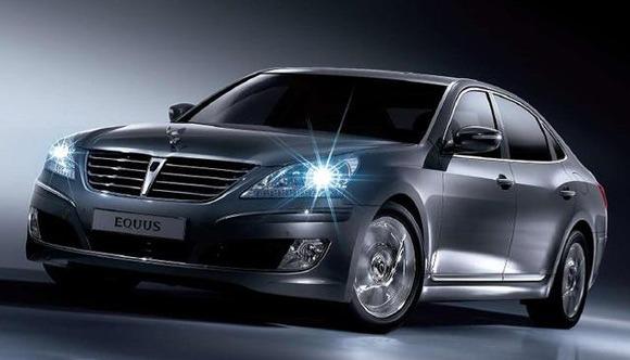 Hyundai Equus Front