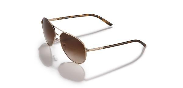 Prada Curved Aviator Sunglasses