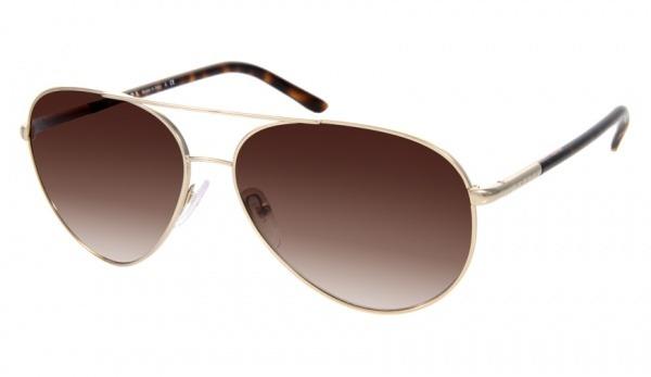 Prada Gold Aviator Sunglasses