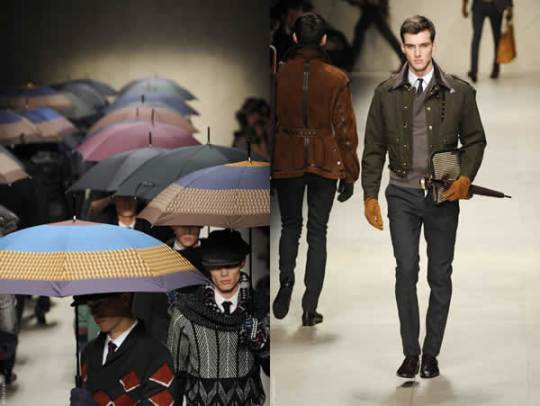 Burberry Prorsum Menswear Fall 2012