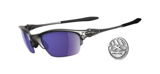 Oakley Half X Polarized Plasma Ice Iridium Sunglasses