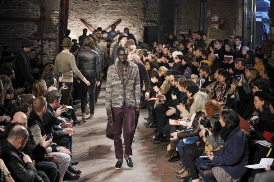 Missoni Menswear Fall 2012 Milan Italy