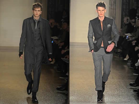 Moschino Menswear Fall Winter 2012 collection