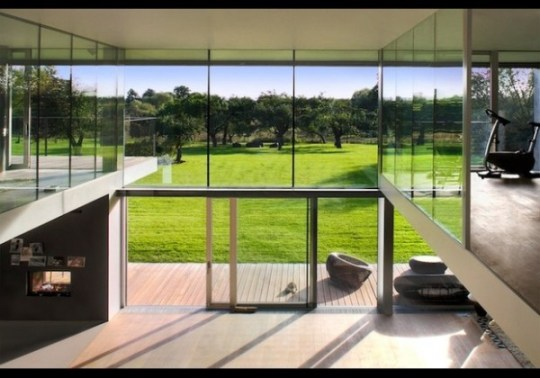 Transforming Concrete Fortress interior, Incredible Fortress Homes