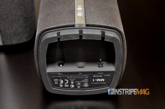 MM-1 Multimedia Speakers, connections, Bowers & Wilkins
