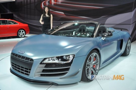 Audi R8 GT Convertible, NY International Car Show 2012