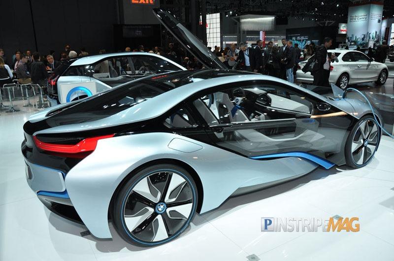 BMW i8 Concept Spyder at the NY Auto Show