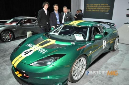 Lotus Evora S GT4 Race Car, NY International Car Show 2012