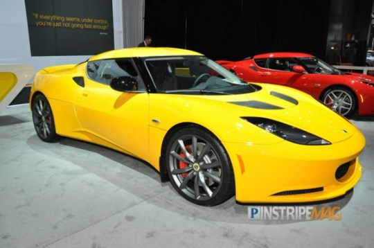 Lotus Evora S the 'S' for sick