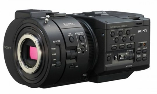 Sony NEX-FS700, Full-hd Super Slow-Motion 4k camera