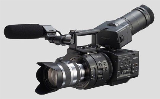 Sony NEX-FS700U Full HD Super Slow Mo