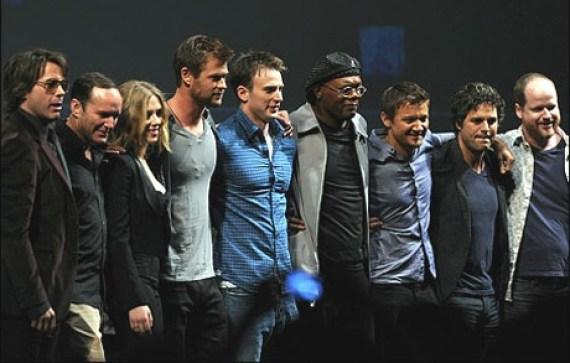The Avengers Cast, Marvel Studios