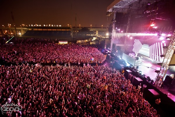 3 days of Electric Zoo 2012 Elelctronic music festival coming to Randalls Island NYC