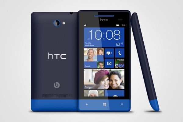 HTC Windows Phone 8X available from AT&T today