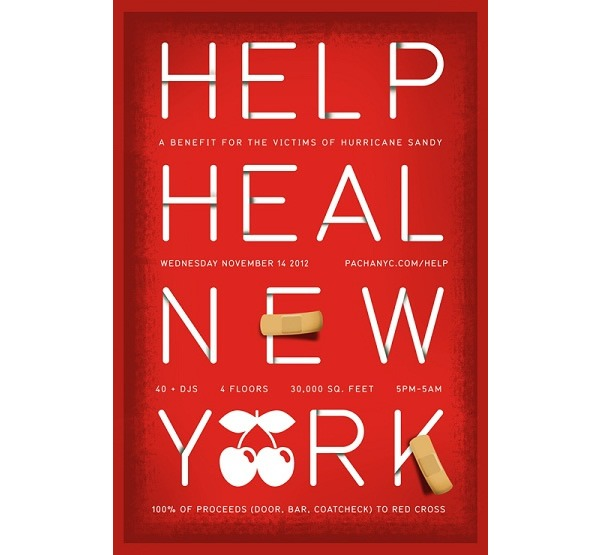 AfroJack and Erick Morillo join Help Heal NY line up tonight at Pacha NYC, Nov 1st 2012