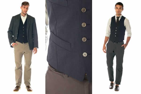 Work to Weekend Osmium Tradesman Vest, Chino, Blazer for men