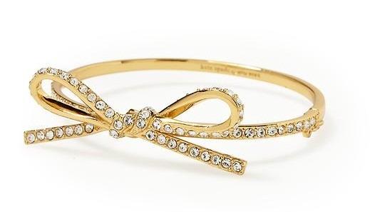 Skinny Mini Bow Bracelet by Kate Spade