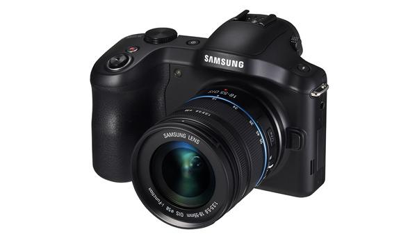 Samsung Galaxy NX Camera, Front