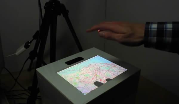 Ultrahaptic Mid-Air Feedback, Bristol University Research Team