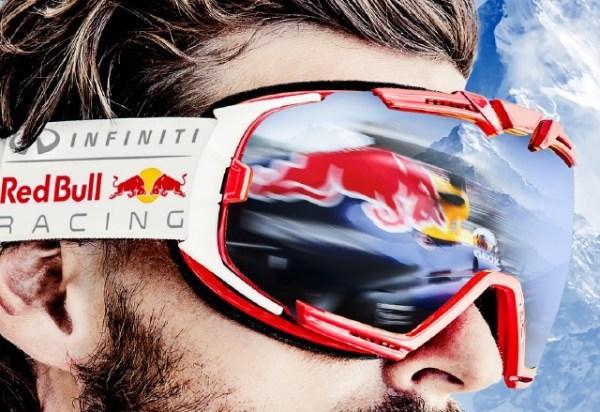 Parabolica Carbon Ski Goggles Red Bull Racing Eyewear