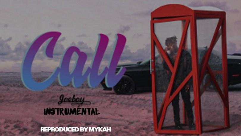 JOEBOY - CALL (Instrumental) Mp3 Download