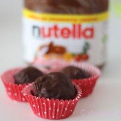 Trufas de Nutella con Galleta