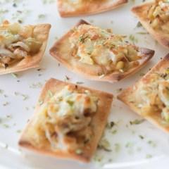 Galletas Saladas con Calabacín y Berenjena