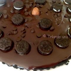 La mejor Tarta de Galletas Oreo sin horno