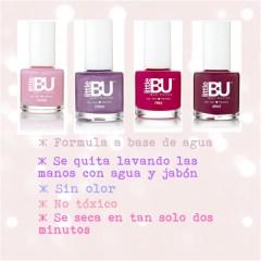 Esmalte de uñas especial para niñas Little Bu