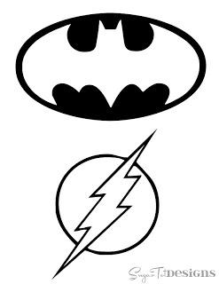 Batman & Flash Logo