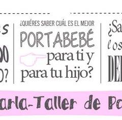 Taller-Charla de Porteo con Brazos y Abrazos y ErgoBaby