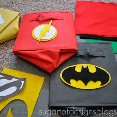 Cajas de Super-héroes DIY