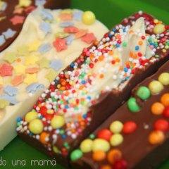 Chocolatinas hechas en casa
