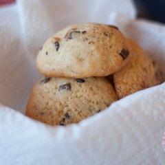 Deliciosas Chip Cookies de Plátano y Chocolate
