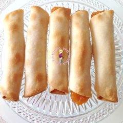 Deliciosos Rollitos Rellenos de Dulce de Calabaza
