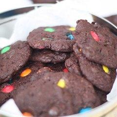 Galletas de Chocolate con Lacasitos