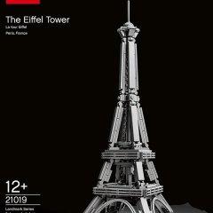 Torre Eiffel de Lego #21019