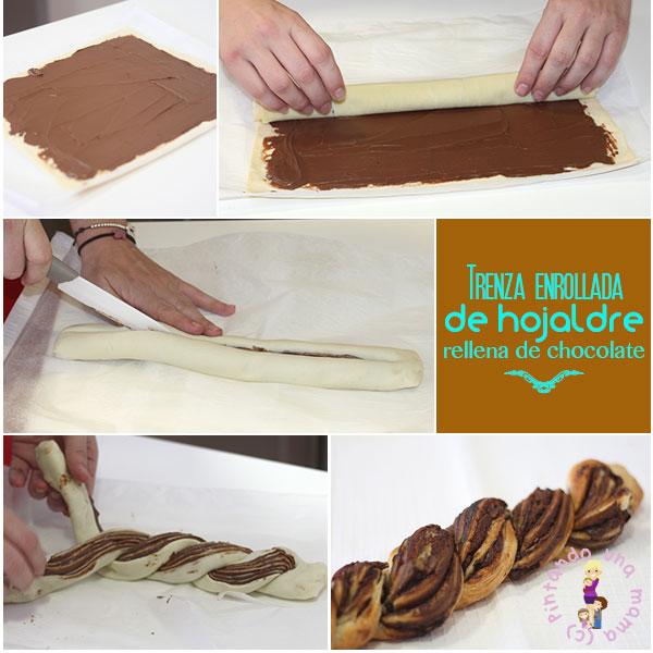 Trenza-hojaldre-chocolate2_PintandoUnaMama
