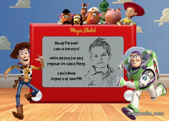 Fiesta de cumpleaños de Toy Story