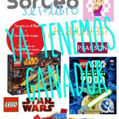 Ganador Set y Libro LEGO StarWars