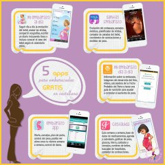 5 Apps para Embarazadas Gratis y en Español