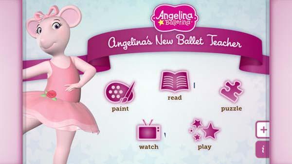 App_Angelina_Ballerina_PintandoUnaMama