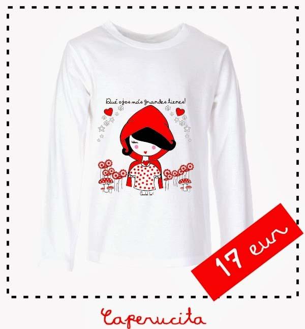Camiseta_caperucita_mangalarga_PintandoUnaMama