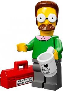 lego_flanders_Los_Simpsons_PintandoUnaMama