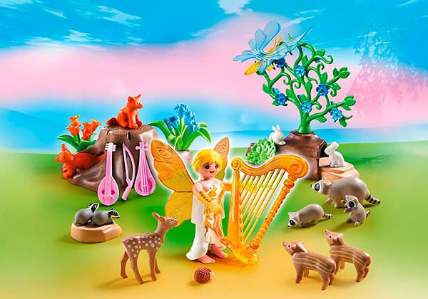 Hada_animales_del_bosque_Playmobil_Fairies_PintandoUnaMama