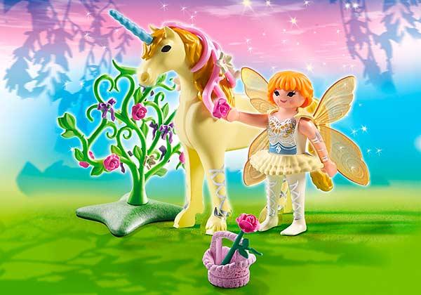 Playmobil_Fairies_Hada_Flor_Unicornio_PintandoUnaMama